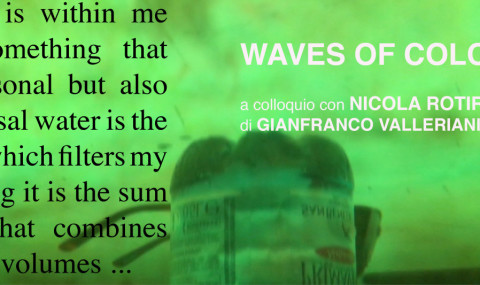 Waves of Color – Nicola Rotiroti interviewed by G. Valleriani
