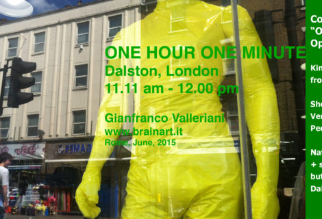 One Hour One Minute, 11.00 am 12.00 am Dalston, London