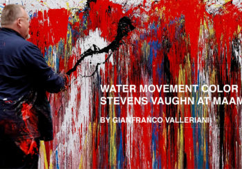 WATER MOVEMENT COLOR interview to Stevens Vaughn
