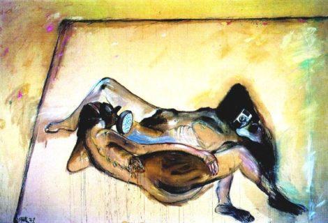 Der Tote der durst hat Nr. 1 by Wolf Vostell